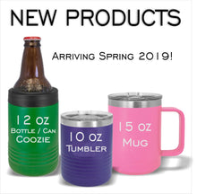 Custom School Logo With Text (TOP) - COLLEGIATE COLLECTION Drink Ware  – Laser Light Industries