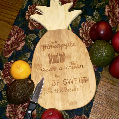 Cutting Board: Pineapple - Laser Light Industries