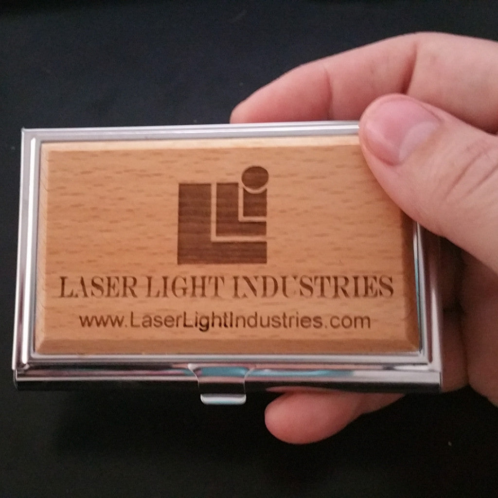 Business Card Holder - Pocket Holder - Laser Light Industries