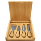 Bamboo Cheese Set with 4 Tools: CUSTOM ARTWORK