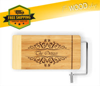 Custom Name Or Word - Cheese Cutting Board - Laser Light Industries