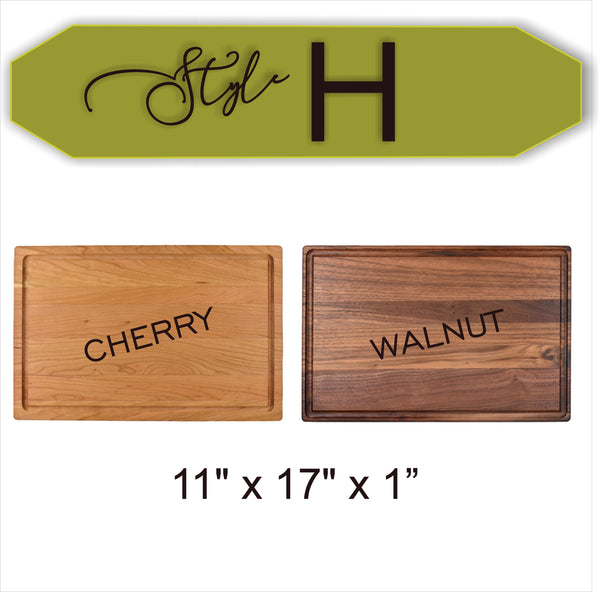 Always (Harry Potter Inspired) - Wood Cutting Board - Laser Light Industries