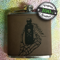 Vegan Leather Flask: What's Your Poison?