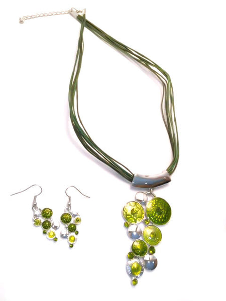 Spanish Flair Necklace and Earring Set # 22