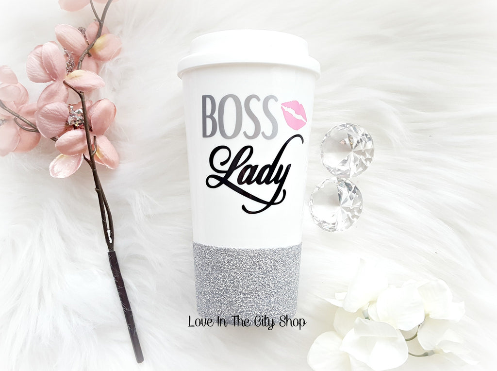 Boss Lady Travel Mug - love-in-the-city-shop