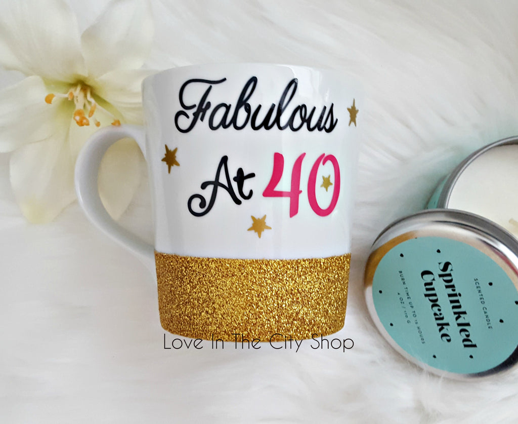 40th Birthday Coffee Mug - love-in-the-city-shop