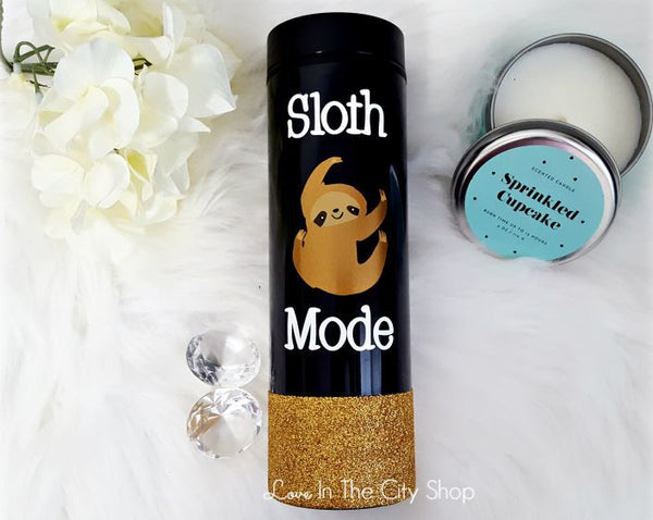 Sloth Coffee Travel Tumbler - love-in-the-city-shop