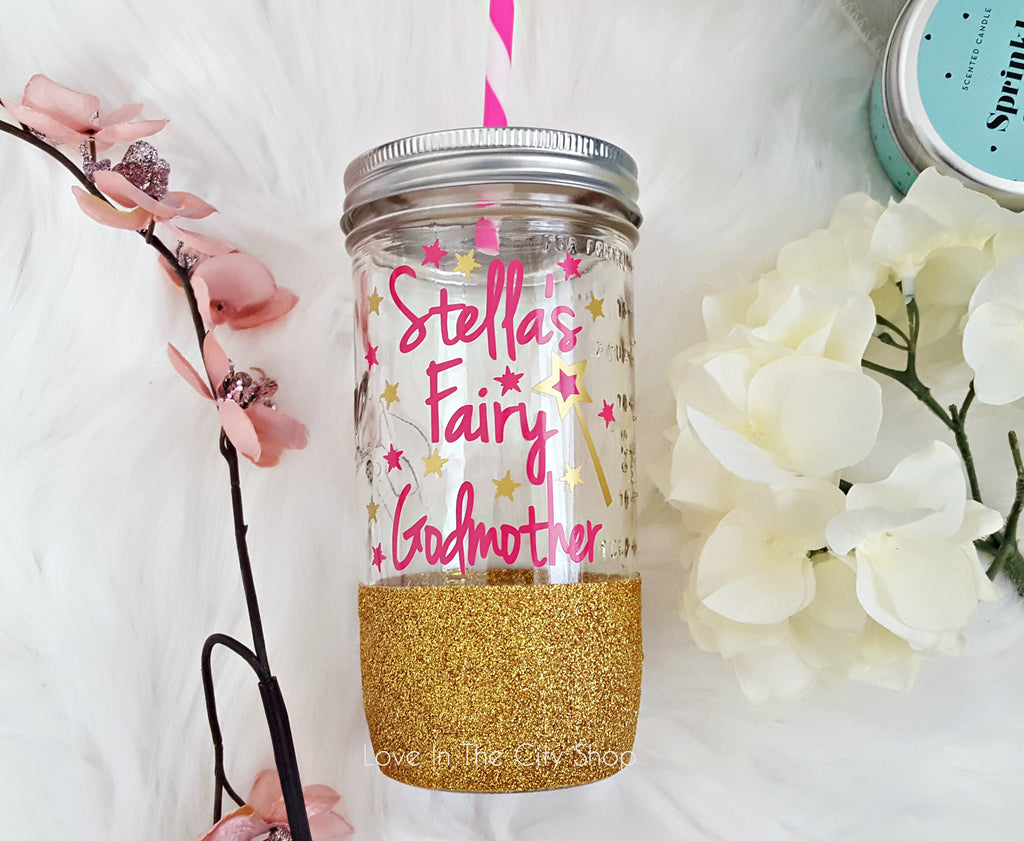 Fairy Godmother Tumbler (Glass Tumbler) - love-in-the-city-shop
