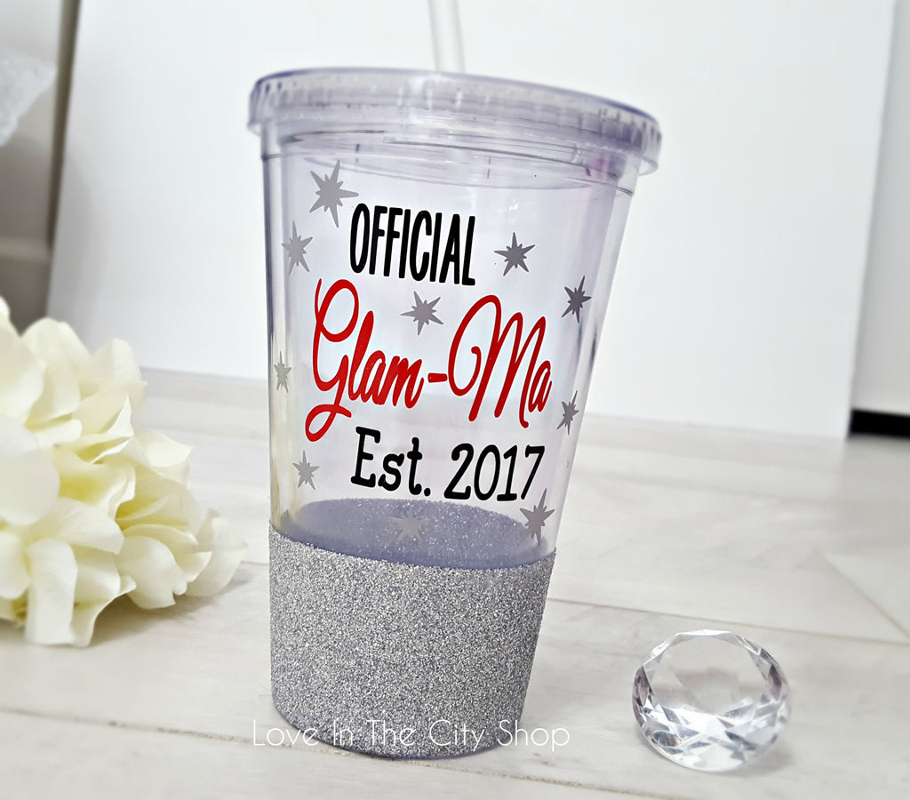 Glam-Ma Tumbler (Acrylic) - love-in-the-city-shop