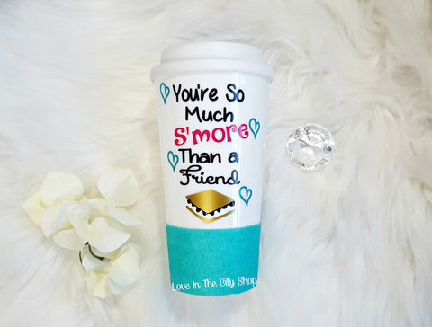 Best Friend Smore Travel Mug - love-in-the-city-shop