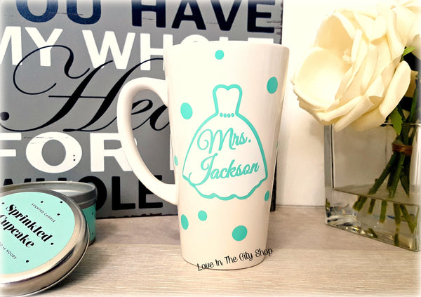 Bride to Be Mug (Latte) - love-in-the-city-shop