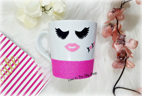 Eyelash Mug - love-in-the-city-shop