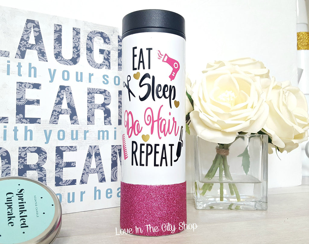 Custom Hair Stylist Mug (Travel Tumbler) - love-in-the-city-shop