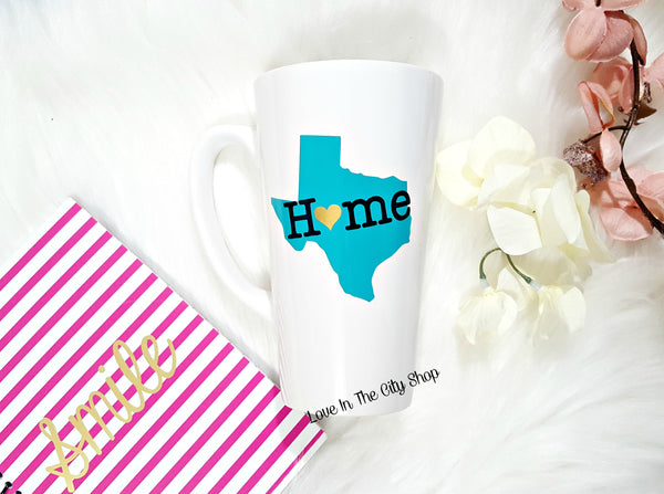 State Mug (Latte) - love-in-the-city-shop