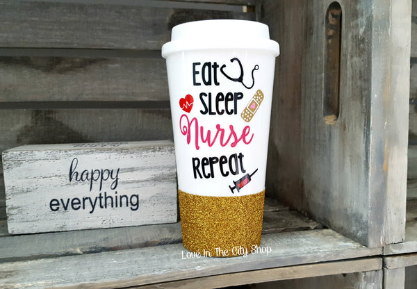 Nurse Travel Mug - love-in-the-city-shop