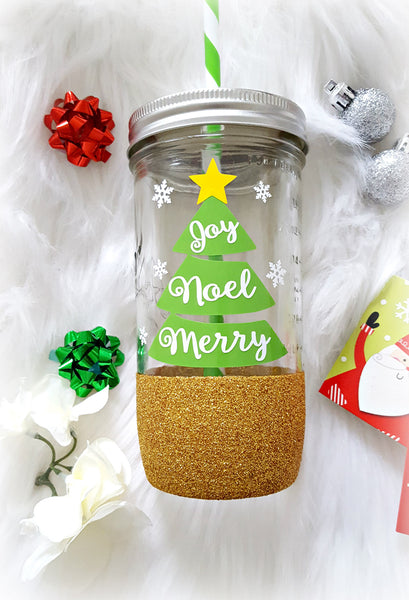 Christmas Tree Tumbler - love-in-the-city-shop