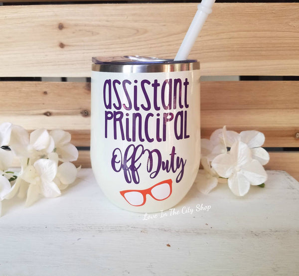 Assistant Principal Wine Tumbler - love-in-the-city-shop
