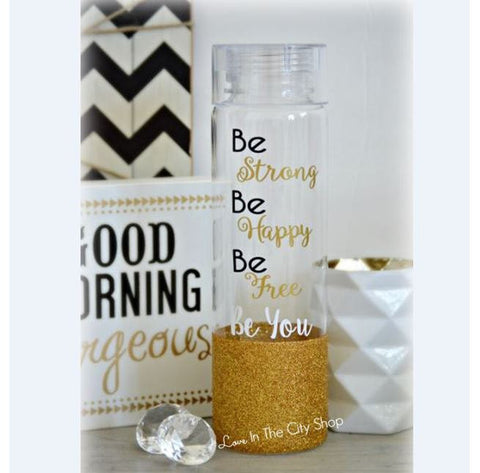 Motivational Water Bottle - love-in-the-city-shop