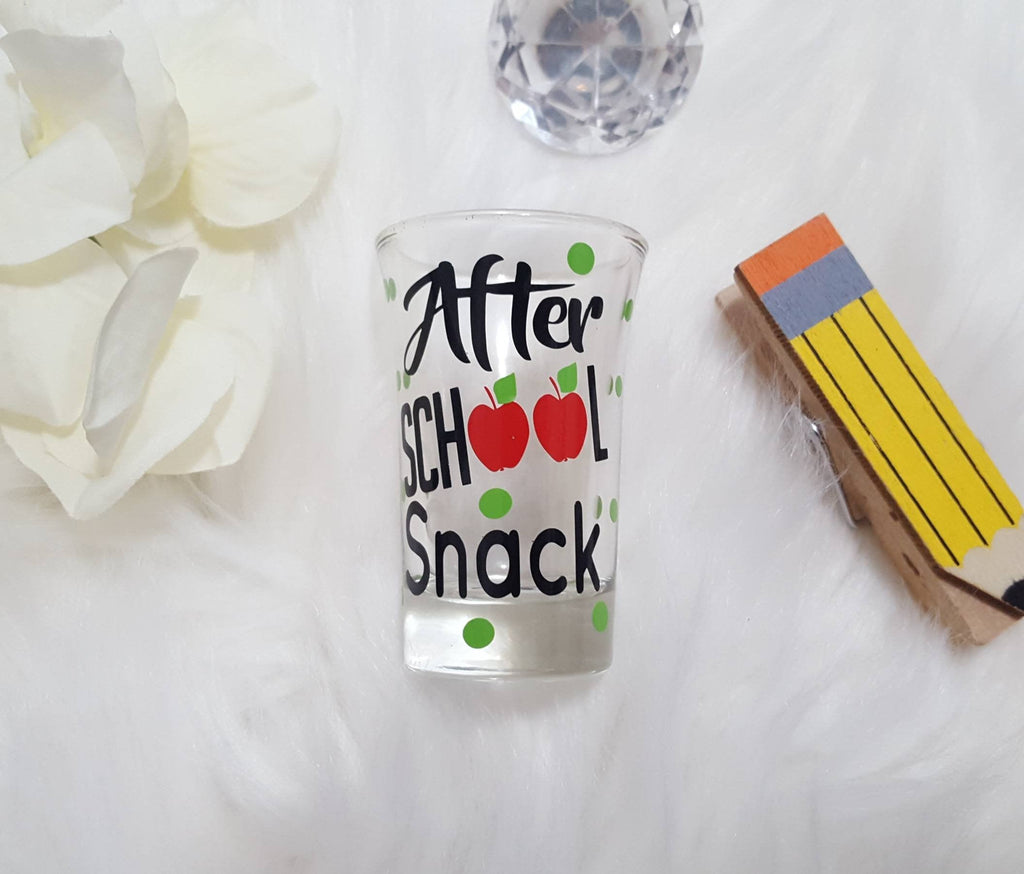 After School Snack Teacher Shot Glass - love-in-the-city-shop