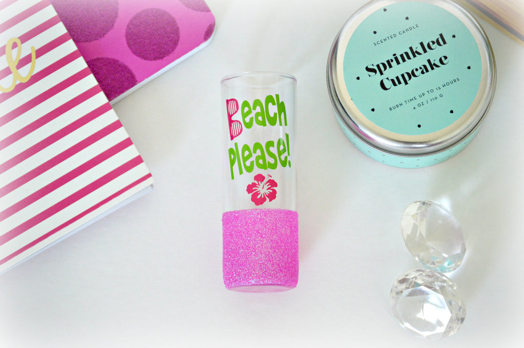 Beach Please Shot Glass - love-in-the-city-shop