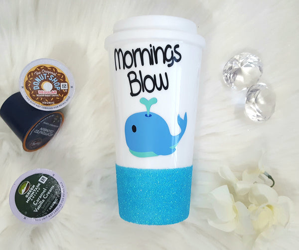 Mornings Blow Travel Mug - love-in-the-city-shop