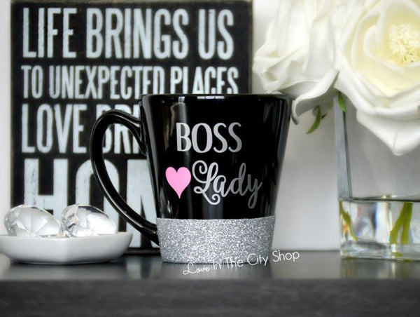 Boss Lady Coffee Mug / Best Boss Mug - love-in-the-city-shop