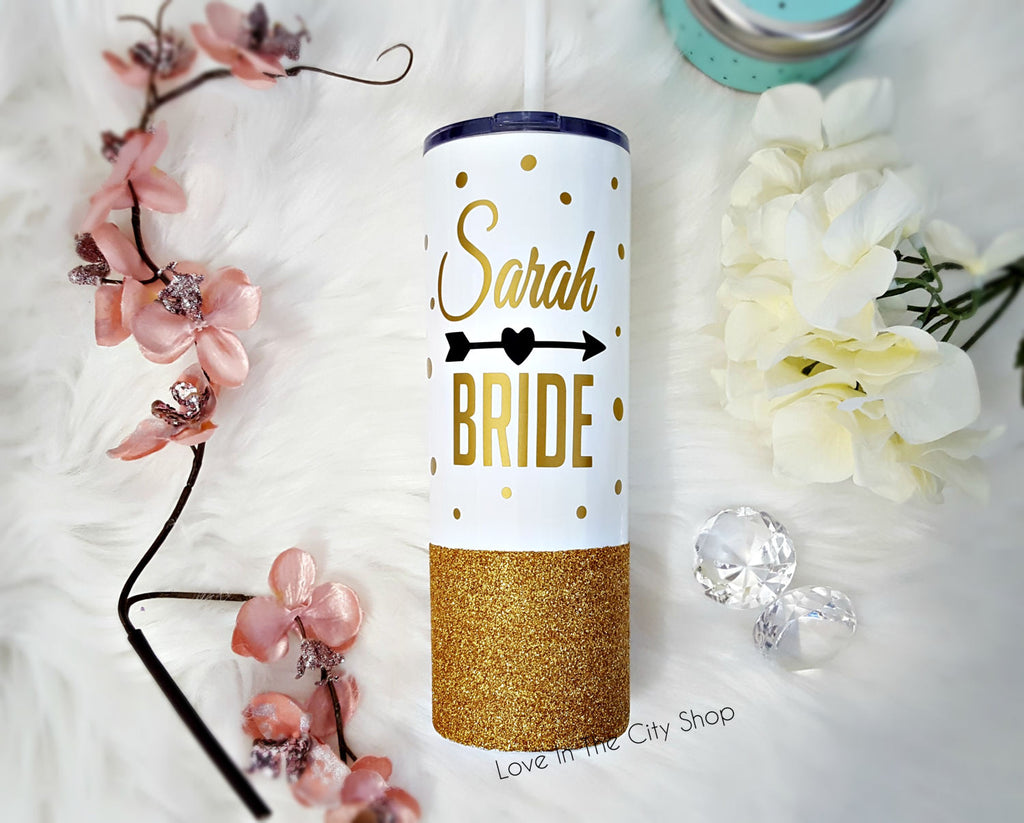 Bride Metal Tumbler - love-in-the-city-shop
