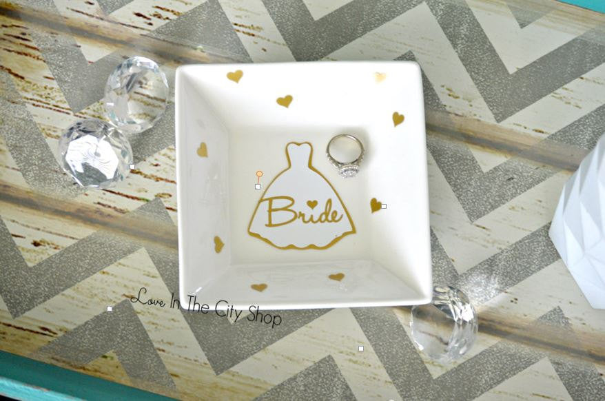 Bride Ring Dish - love-in-the-city-shop