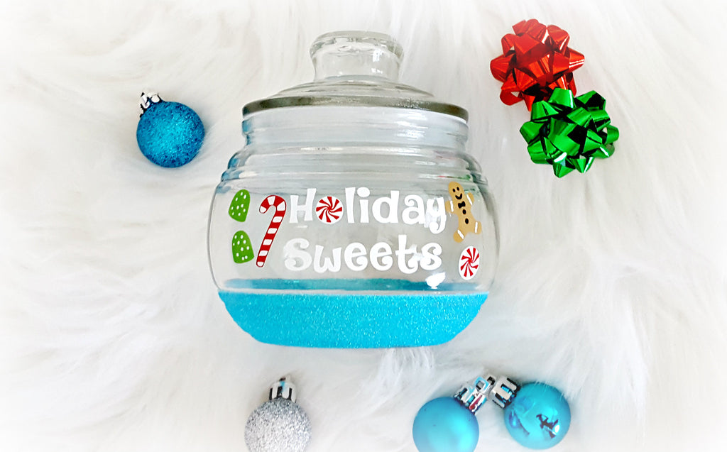 Christmas Candy Jar - love-in-the-city-shop