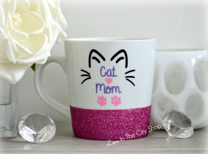 Cat Mom Coffee Mug - love-in-the-city-shop