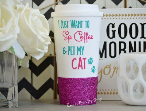 Cat Travel Mug - love-in-the-city-shop