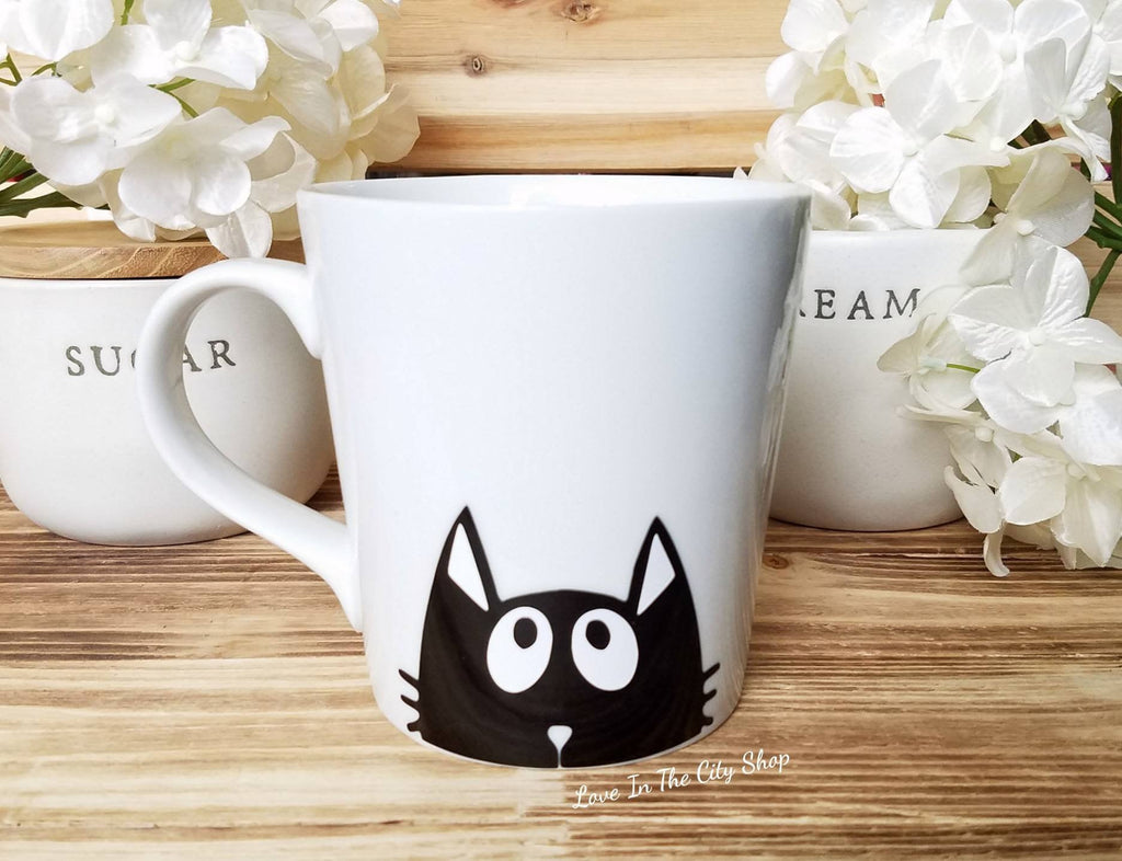 Cat Coffee Mug - love-in-the-city-shop
