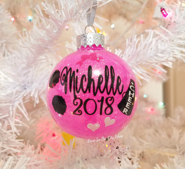 Cheerleading Ornament - love-in-the-city-shop