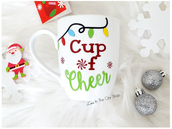 Cup of Cheer Mug - love-in-the-city-shop