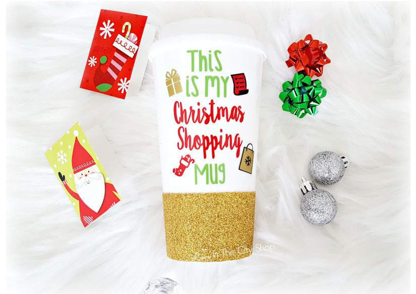 Christmas Shopping Mug - love-in-the-city-shop