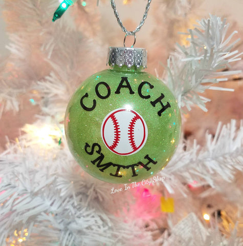 Coach Ornament - love-in-the-city-shop