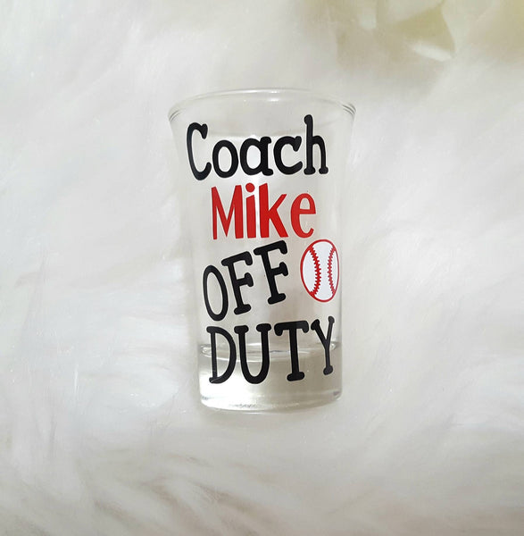 Coach Shot Glass - love-in-the-city-shop