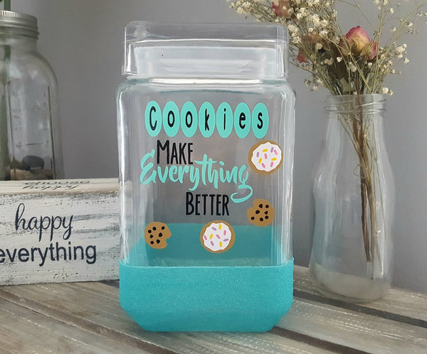 Cookies Make Everything Better Cookie Jar - love-in-the-city-shop