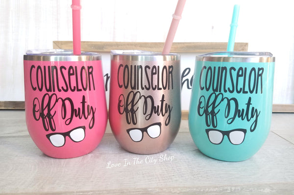 Counselor Wine Tumbler - love-in-the-city-shop