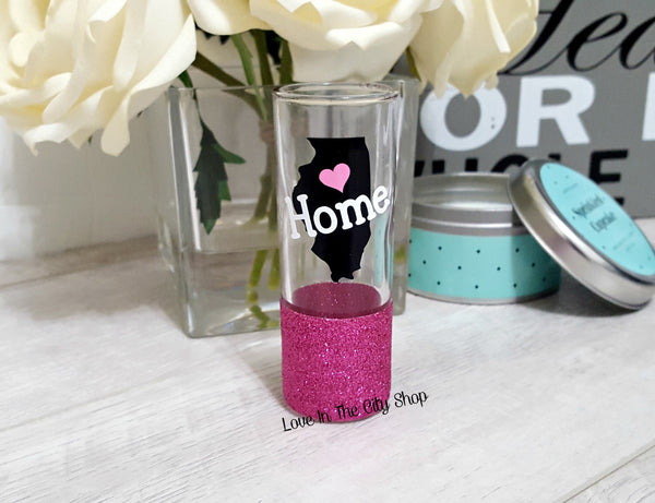 State Shot Glass (Home Shot Glass) - love-in-the-city-shop