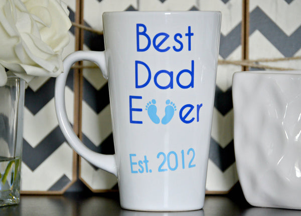 Best Dad Ever Mug (Latte) - love-in-the-city-shop