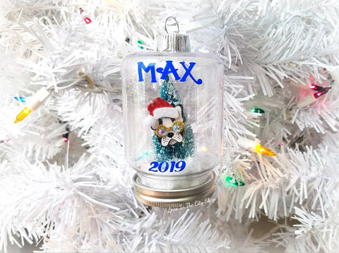 Dog Snow Globe Ornament - love-in-the-city-shop