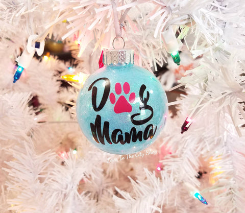 Dog Mama Ornament - love-in-the-city-shop