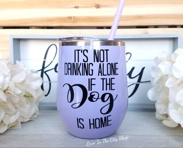 Dog Wine Tumbler - love-in-the-city-shop