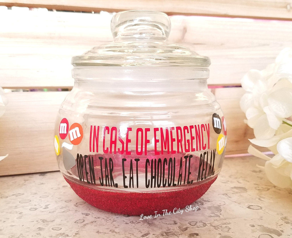 In Case of Emergency Candy Jar - love-in-the-city-shop