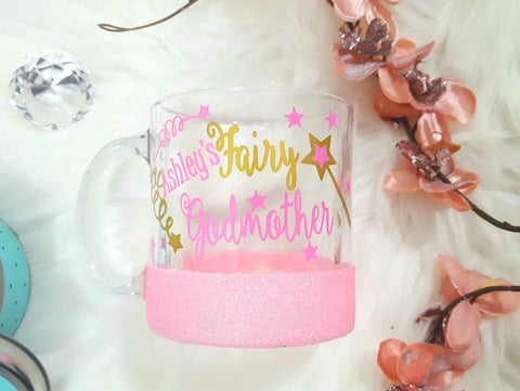 Fairy Godmother Glass Coffee Mug - love-in-the-city-shop