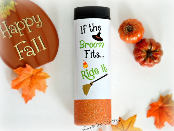 Halloween Witch Travel Tumbler - love-in-the-city-shop