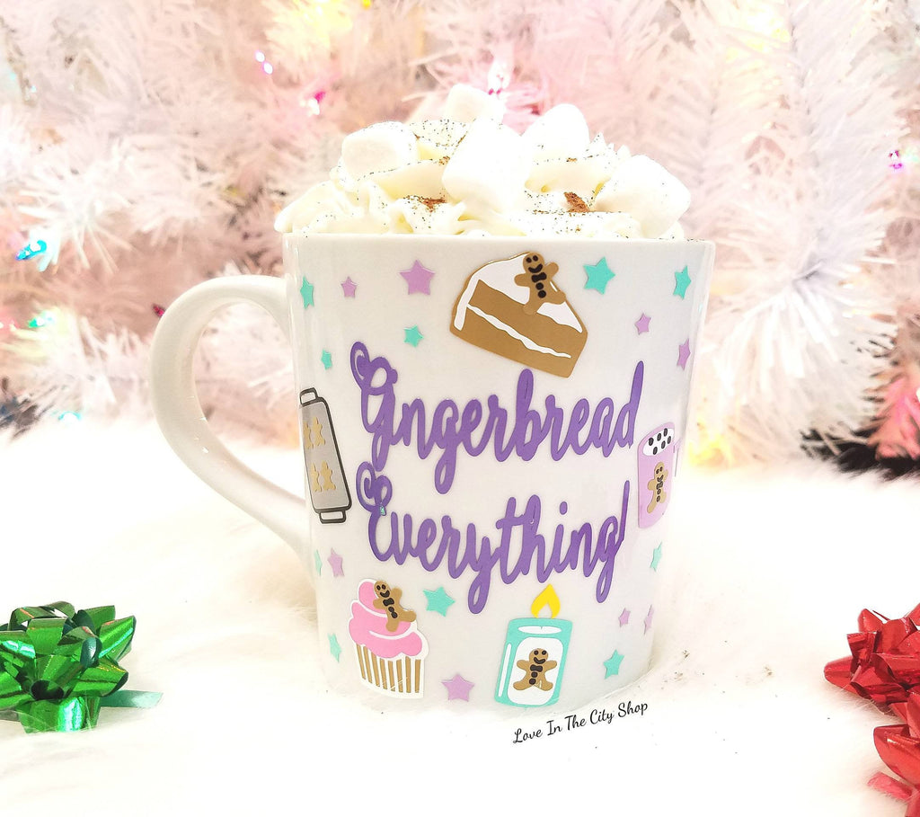 Gingerbread Everything Coffee Mug - love-in-the-city-shop
