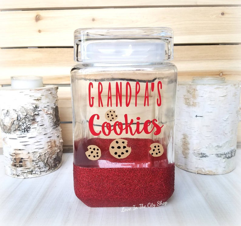 Grandpa's Cookie Jar - love-in-the-city-shop