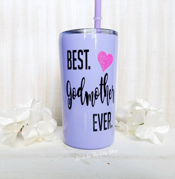 Best Godmother Metal Tumbler (Mini Tumbler) - love-in-the-city-shop